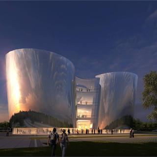 Teda Exhibition Centre, Solution 1
