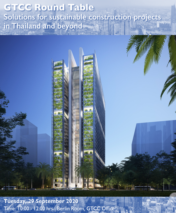 'A Sustainable Office Tower' in Bangkok