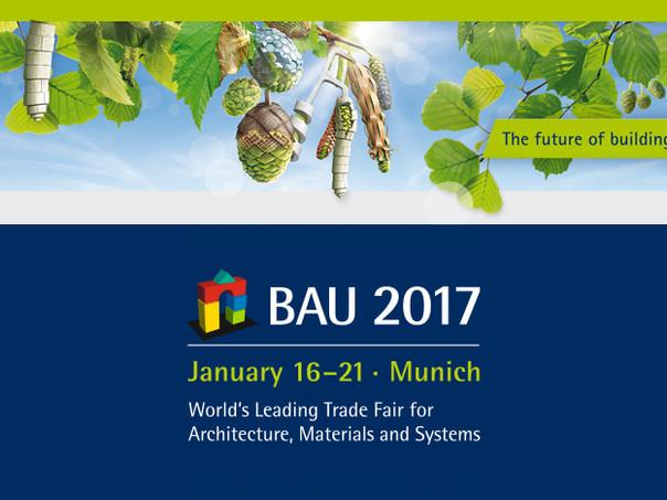 BAU 2017, Munich