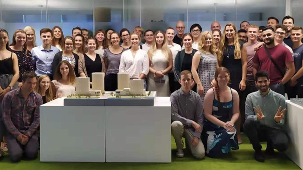 The CCST Summer School visited the office of thomas fritzsche architects   tfa