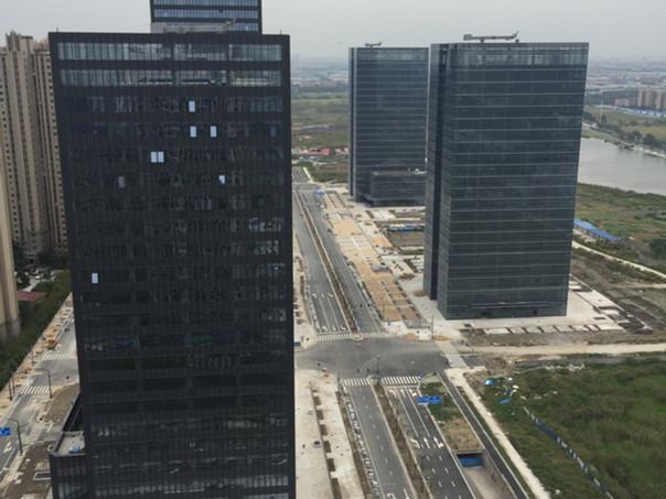 Construction Update: Financial Street in Kunshan, China