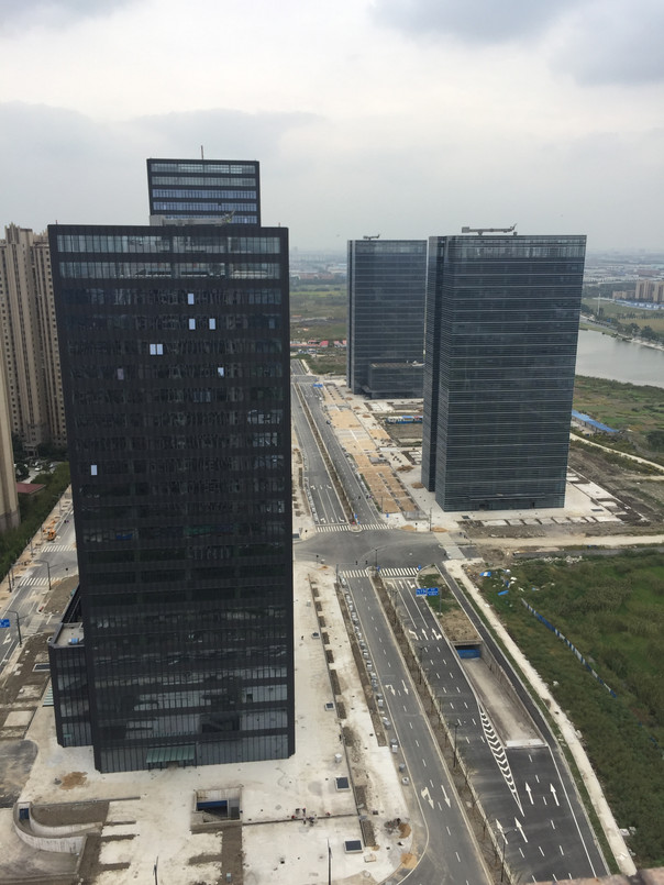 Construction Update: Financial Street in Kunshan, China
