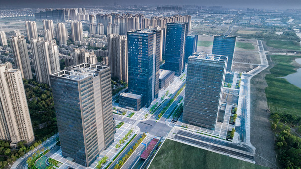 Construction Finished: Kunshan, Financial Street Office Towers