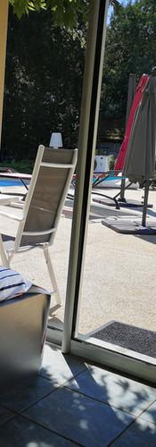 Accès piscine Vulcain