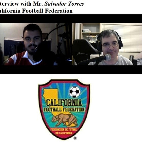 California Football Federation on Soccer Nostalgia Talk Podcast