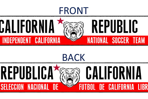 CALIFORNIA NATIONAL TEAM SUPPORTER SCARF