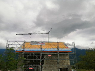 St Vincent de Mercuze, chantier terminé !