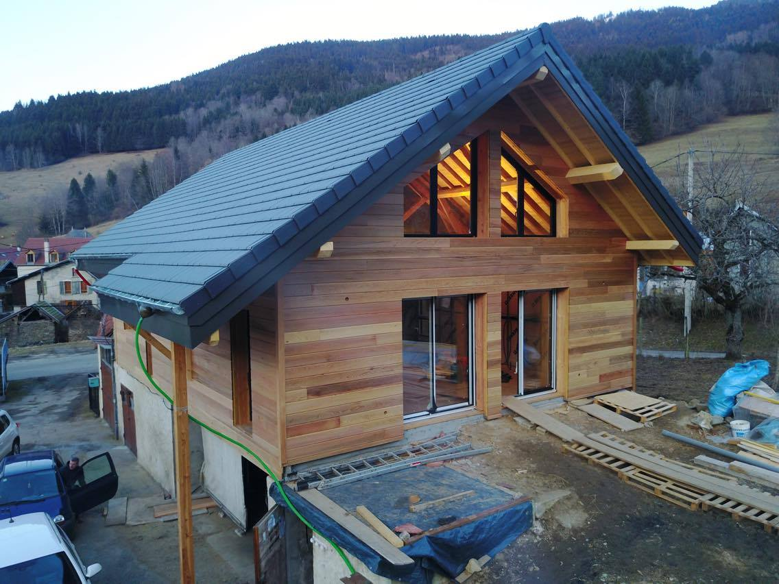 Transformation grange en habitation