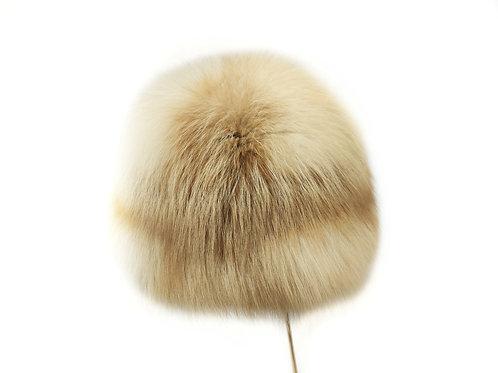 Меховая шапка из лисы