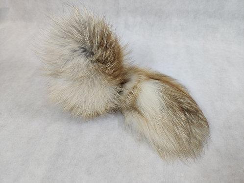 Варежки меховые из лисы