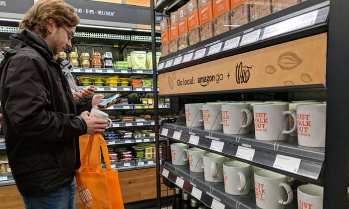 amazon go iot store
