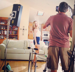 On Set @ A Commercial