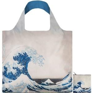 Loqi Reusable Shopping Bag - Hokusai