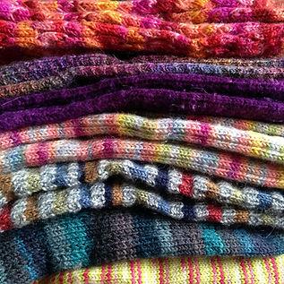Handknit socks by Laura J.jpg