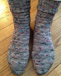 Socks with 25th Anniversary Yarn.jpg