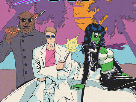 Comicbook Review: Magic Cop by Phillip Diaz