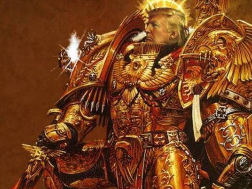 God Emperor Donald Trump Defeats Tzeentch Cult on Holy Terra