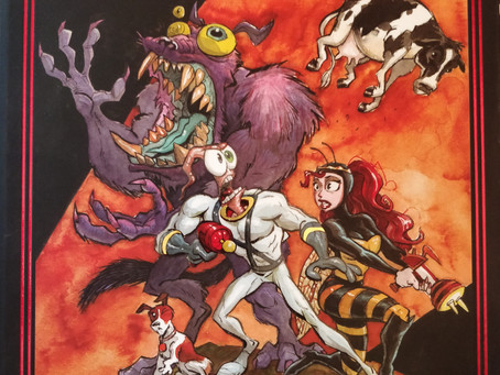 Comicbook Review: Earthworm Jim by Doug Tennapel