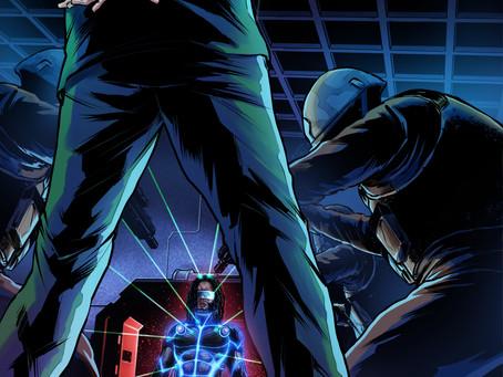 BEHOLD! Our Cyber Ninja Hero, Digitorium!