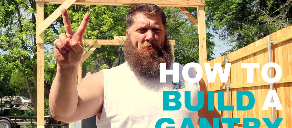 How To Build a Gantry for Airstream Shell Removal