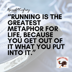 """""""Running is the greatest metaphor for li"""