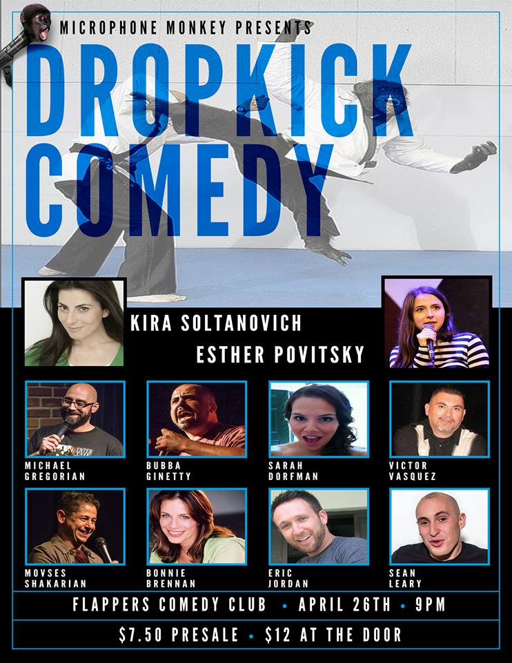 Dropkick Comedy - Apr 2015