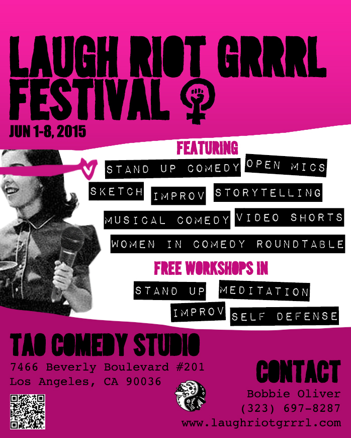 Laugh Riot Grrrl - Jun 2015
