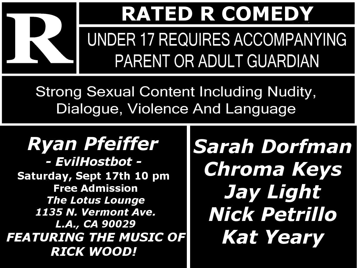 Rated R Sep 2016