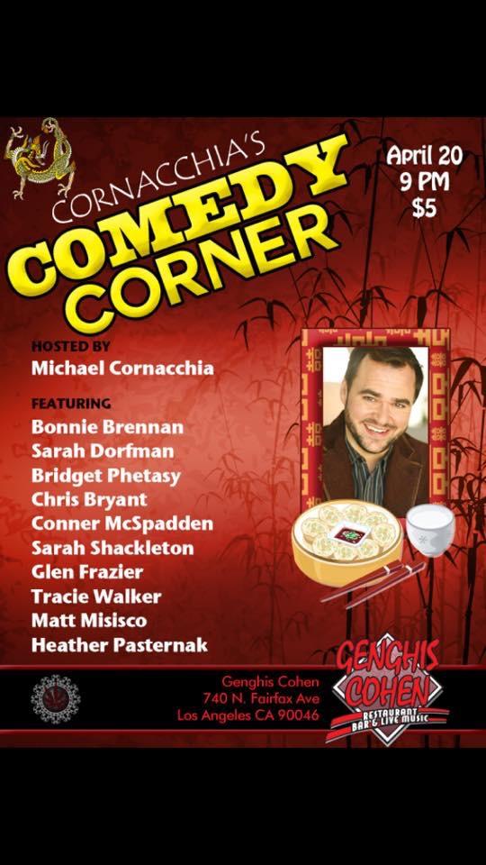 Cornacchia's Comedy - Apr 2015