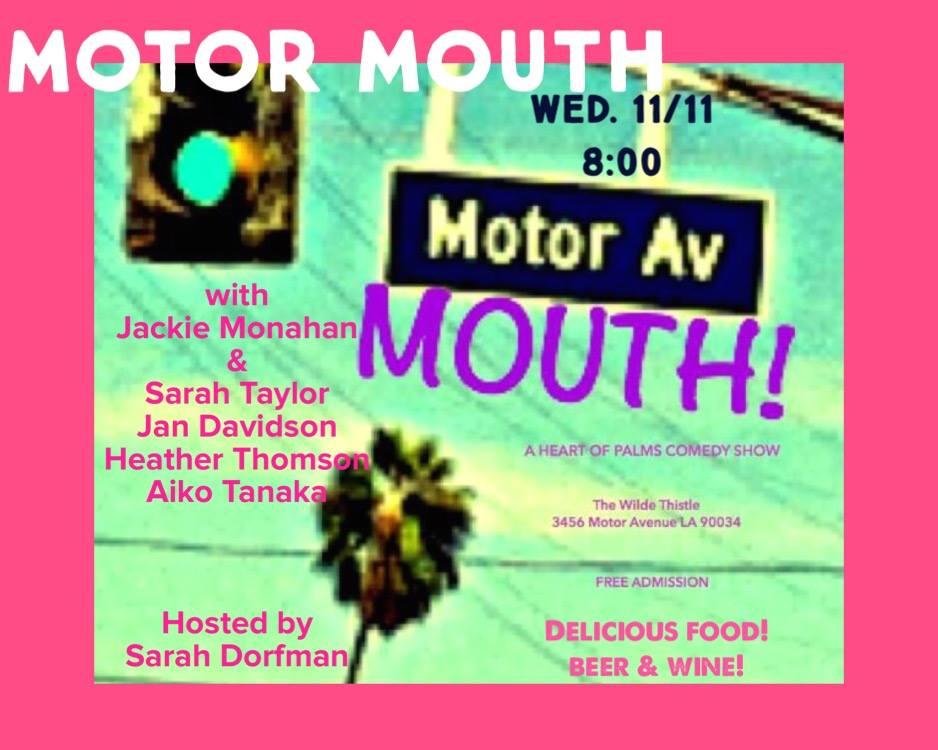November Motor Mouth