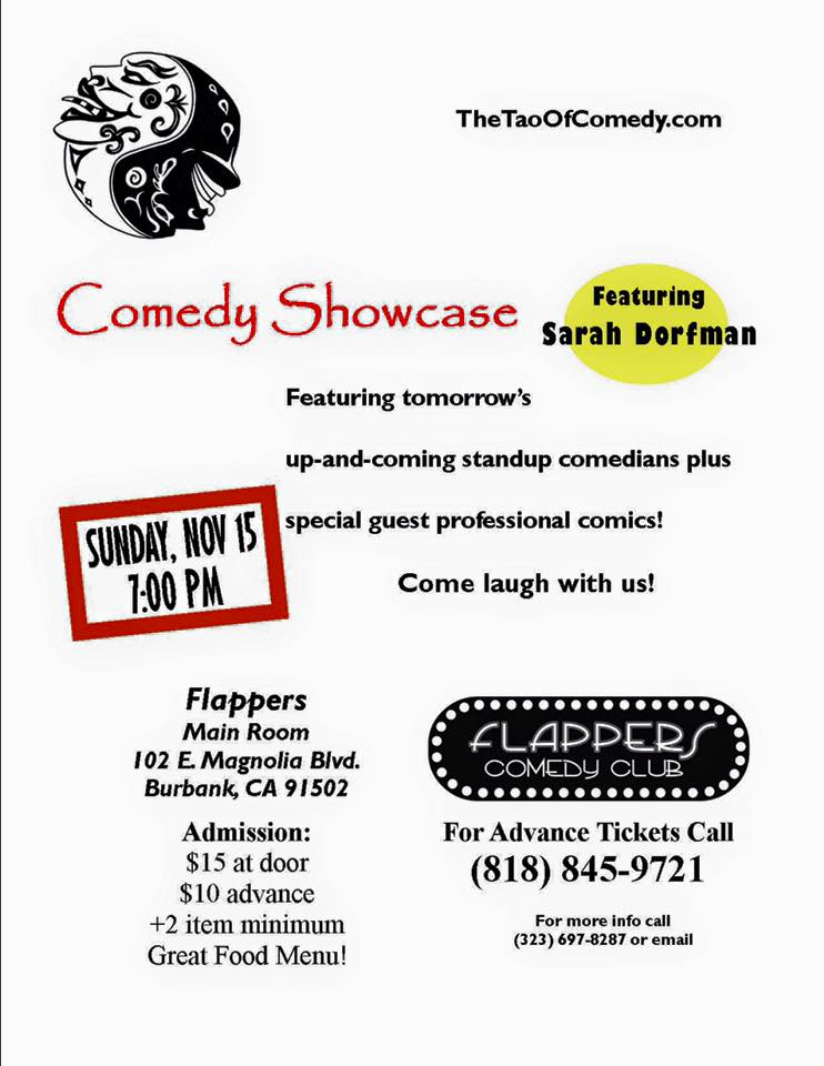 Tao Comedy Showcase