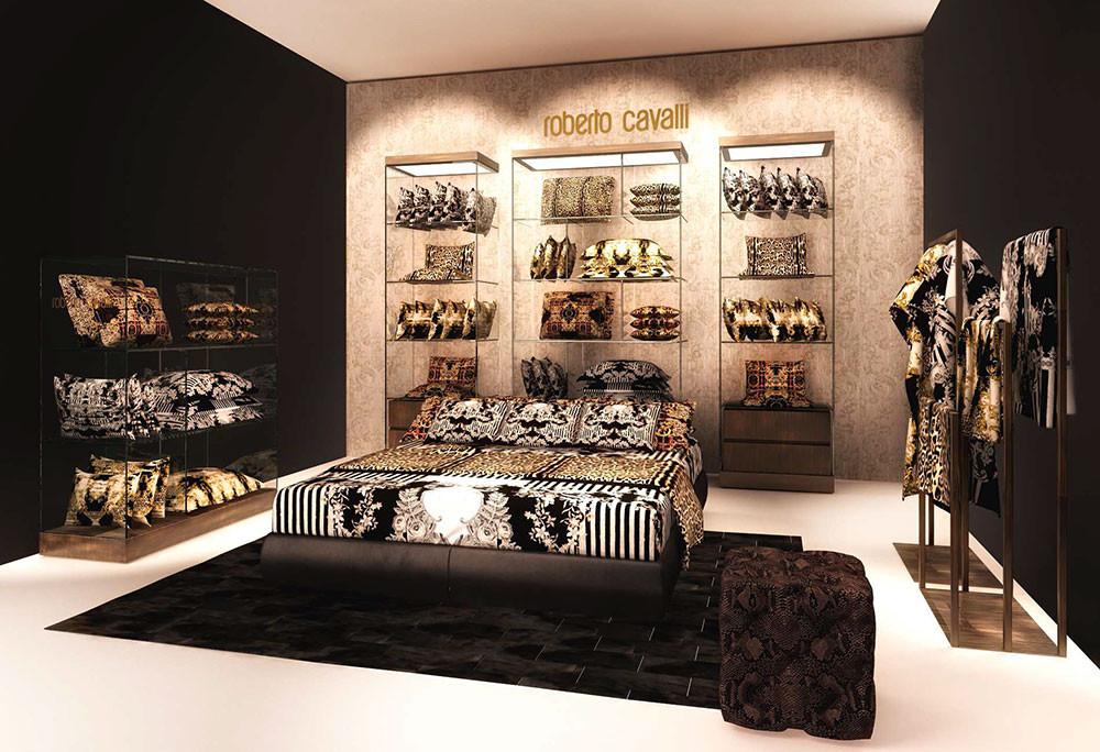 Элитный итальянский текстиль Roberto Cavalli