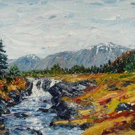 Waterfalls, Glenorchy