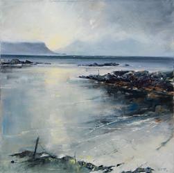 Dawn, Traigh Beaches-I,-50-x-50-cm