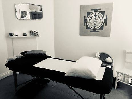 Massage Couch in therapy rom