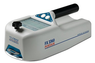 Portable Air Permeability and Thickness Tester FX 3360 PortAir掌上型透氣性與厚度試驗機
