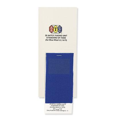 AATCC Lightfastness Blue Wool AATCC耐光色牢度試驗織物
