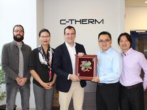 高逸團隊前往加拿大C-THERM進行新產品訓練以及代理商會議