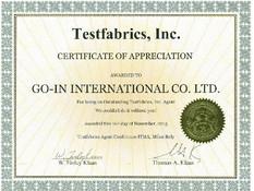高逸團隊拜訪美國Testfabrics, Inc.總部