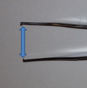 Forceps oculoplastics