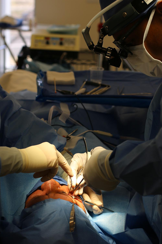 Orbital tumor removal