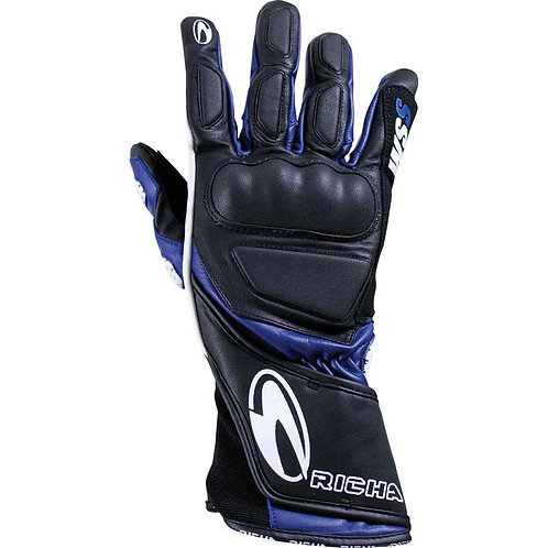 Richa WSS Black/Blue gloves