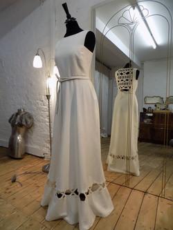 """Rosie"" bespoke wedding dress"
