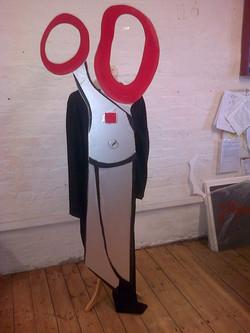 Scissors costume