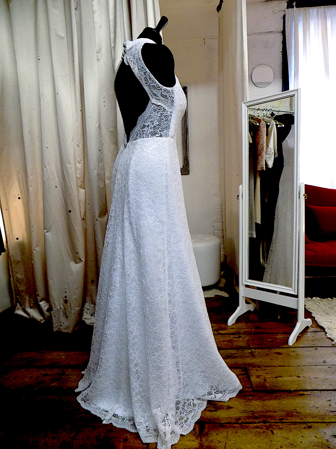 """Ella"" bespoke wedding gown"