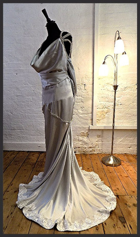 """Courtney"". Hollywood Star style wedding dress"