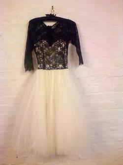 """Jessica"" upcycled dress"