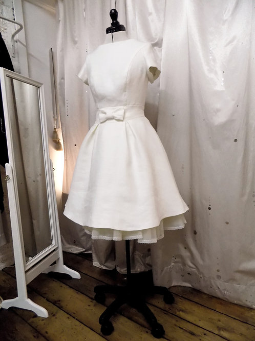 """Jodie"" Sustainable Short wedding dress"