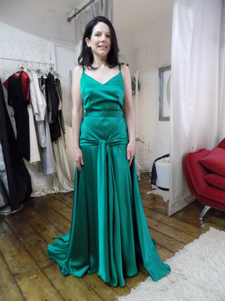 """""""Siobhan"""". Dress from the film """"The Atonement"""""""
