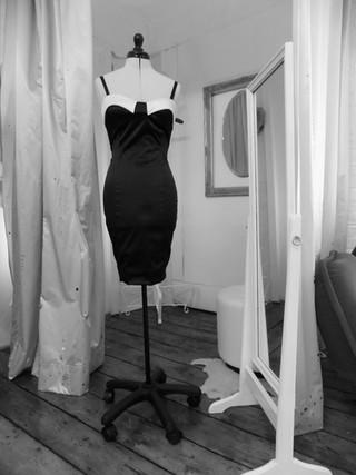 """Emily"".1950's beatnik fitted dress."